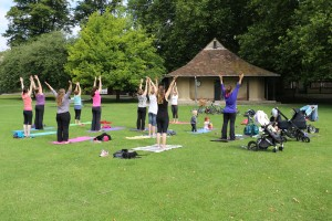 Yoga in the Park Liverpool