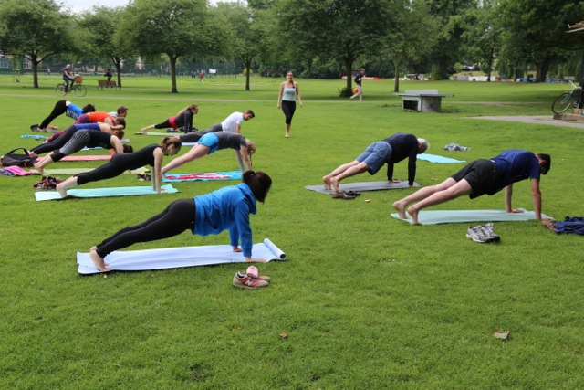 Yoga Outdoors Liverpool