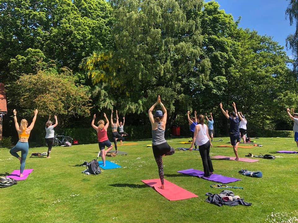 Yoga Outdoors Liverpool